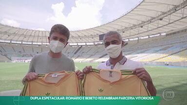 Dupla Espetacular: Romário e Bebeto relembram parceria vitoriosa - Dupla Espetacular: Romário e Bebeto relembram parceria vitoriosa