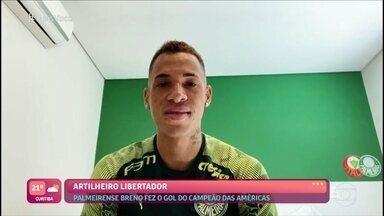 Breno Lopes manda recado para Ana Maria Braga - Craque do Palmeiras deseja sorte no retorno da apresentadora a São Paulo