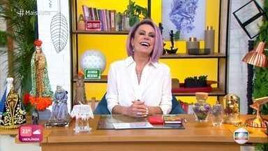 Programa de 23/02/2021 - Ana Maria Braga comenta as tretas do BBB21 e especialista dá dica para controlar as emoções com inteligência emocional. Apresentadora ensina receita de sorvete de doce de leite