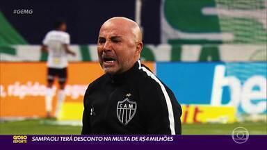 """Jorge Sampaoli se despede do Galo: """"Sigam caminhando com o coração como guia"""" - Jorge Sampaoli se despede do Galo: """"Sigam caminhando com o coração como guia"""""""