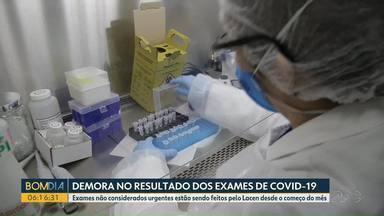 Pacientes relatam longa esperar para ter resultados de exames de Covid-19 - Situação está sendo registrada em Foz do Iguaçu.