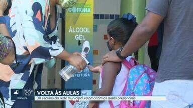 Escolas municipais do Rio retomam aulas - Escolas municipais do Rio retomam aulas