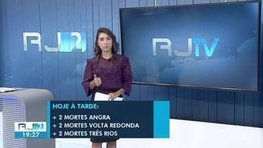 RJ2 mostra números da pandemia na região - Número de óbitos subiu em Angra dos Reis, Três Rios e Volta Redonda. As informações são das Secretarias Municipais de Saúde.