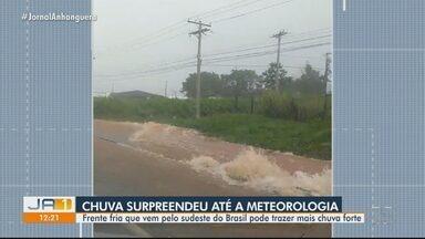 Chuva em Goiânia ultrapassa volume esperado para o período - Veja qual era a previsão.