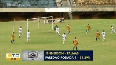 """Goleiro Jennerson, do Palmas, é eleito o """"paredão"""" da 1ª rodada do Tocantinense - Goleiro Jennerson, do Palmas, é eleito o """"paredão"""" da 1ª rodada do Tocantinense"""