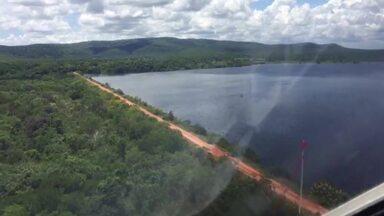 Moradores de Engenheiro Dolabela ficam tensos após alerta do Incra sobre barragem - Incra alertou sobre as condições do reservatório, localizado na zona rural de Bocaiuva.