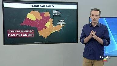 Bragança Paulista e Bom Jesus dos Perdões vão para fase vermelha do Plano SP - Medida vale a partir desta terça.