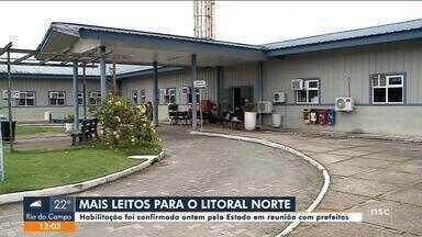 Estado confirma habilitação de novos leitos de UTI no Litoral Norte de SC - Estado confirma habilitação de novos leitos de UTI no Litoral Norte de SC
