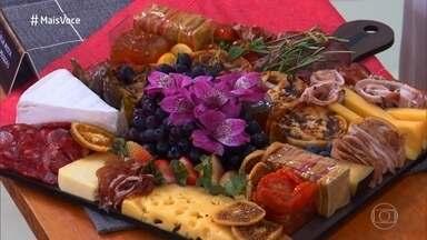 Grazing Food é uma tendência no estilo de comer - Estilo despojado de 'espalhar a comida' reúne petiscos variados para serem servidos em qualquer ocasião. Thaís e Lucia contam como decidiram investir no negócio de vender tábuas de grazing food