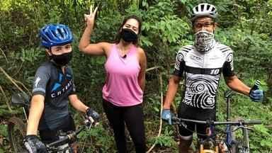 NO BALAIO (6 DE MARÇO) - ÍNTEGRA - Teve Mountain Bike, receita de biscoitinhos de maizena com coco, arte na melancia e entrevistas com Adriana Esteves e Fernanda Gentil.