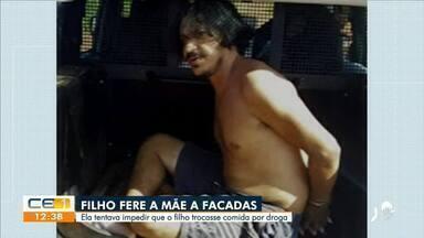 Em Araripe, homem fere a facadas a própria mãe - Saiba mais em g1.com.br/ce