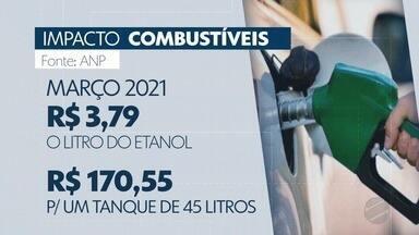 Preços da gasolina e do diesel têm novo reajuste - Preços da gasolina e do diesel têm novo reajuste.