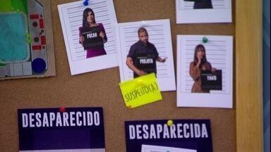 No Quarto Secreto do BBB21, Carla Diaz coloca placa de suspeito em Projota - No Quarto Secreto do BBB21, Carla Diaz coloca placa de suspeito em Projota