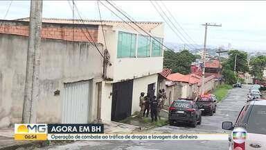 Polícia Civil realiza Operação Washing para combater tráfico e lavagem de dinheiro em MG - Cem policiais cumprem 22 mandados de prisão e 29 de busca e apreensão em Belo Horizonte, Contagem, Vespasiano, Santa Luzia, Sete Lagoas e Coronel Fabriciano.