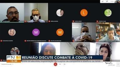 Conselho Municipal de Saúde discute situação da pandemia em Presidente Prudente - Hospitais de campanha e abertura de mais leitos foram temas abordados na reunião nesta quinta-feira (11).