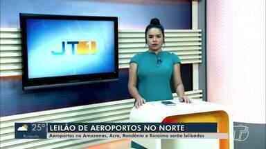 Aeroportos no Amazonas, Acre, Rondônia e Roraima serão leiloados - Saiba mais sobre o leilão.