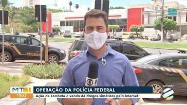 Polícia Federal faz operação de combate as drogas sintéticas - Polícia Federal faz operação de combate as drogas sintéticas.