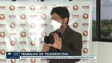 Trabalho de telemedicina - Parceria entre hospitais.