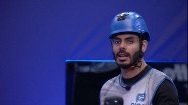 Rodolffo destaca durante Prova do Líder no BBB21: 'Estou na mira' - Rodolffo destaca durante Prova do Líder no BBB21: 'Estou na mira'