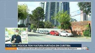 Polícia procura por viatura que foi furtada em Curitiba - O carro era usado para entregar documentos da delegacia quando desapareceu de uma das ruas do Juvevê