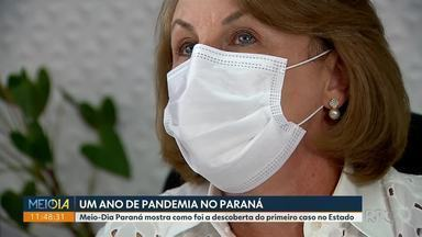 Meio-Dia Paraná mostra detalhes inéditos sobre a primeira confirmação de coronavírus - Primeiro paciente com resultado positivo é de Curitiba.
