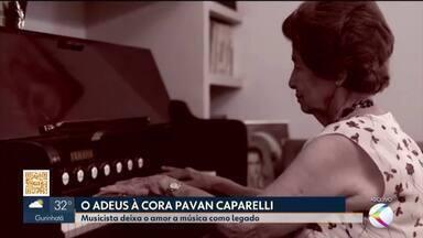 MG1 homenageia a musicista Cora Pavan Caparelli, vítima da Covid-19 em Uberlândia - Artista tinha 95 anos e estava internada desde segunda-feira (8). Ela foi uma das fundadoras do Conservatório Estadual de Música de Uberlândia, que leva o nome dela. Cora deixa o amor à música como legado.