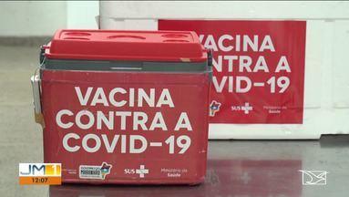 Mais de 260 mil doses das vacinas contra a Covid já foram aplicadas no Maranhão - O lote mais recente trouxe 66 mil doses.