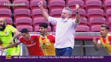 Em entrevista exclusiva, Abel Braga fala sobre a dor da perda do tetra brasileiro - O treinador falou da decepção com a arbitragem e futuro da carreira.