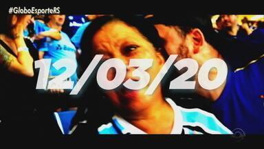 Confira a abertura do Globo Esporte RS desta sexta-feira (12) - Assista ao vídeo.