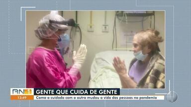 Um ano de pandemia no RN: como o cuidado com o outro mudou a vida das pessoas - Um ano de pandemia no RN: como o cuidado com o outro mudou a vida das pessoas