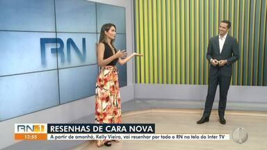 Kelly Vieira estreia na programação da InterTV com nova temporada do Resenhas do RN - Kelly Vieira estreia na programação da InterTV com nova temporada do Resenhas do RN