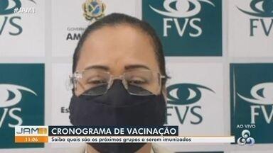 Entenda como está ocorrendo o cronograma de vacinação contra a Covid no Amazonas - Saiba quais são os próximos grupos a serem imunizados.