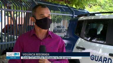 Guarda Civil intensifica fiscalizações durante o final de semana - O objetivo é garantir o cumprimento do decreto estadual