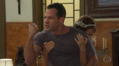 Apolo tira satisfações com Beto - Flavia esclarece tudo e diz que Apolo foi vítima de um golpe