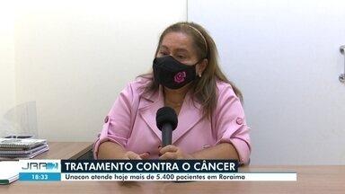 Unidade de alta complexidade em oncologia atende mais de 5,4 mil pacientes - A unidade de alta complexidade em oncologia atende mais de 5,4 mil pacientes no tratamento contra o câncer.