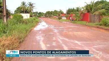 Defesa Civil monitora pontos de alagamentos na região - Veja como o órgão está atuando no período das chuvas.
