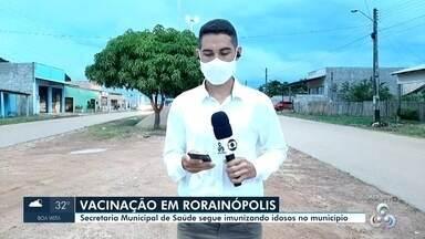 Vacinação contra Covid-19 em Rorainópolis - Secretaria Municipal de Saúde segue imunizando idosos do município.