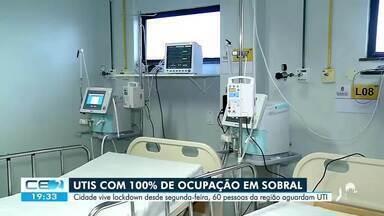 Espera por leito: 60 pessoas estão na fila em Sobral - Confira mais notícias em g1.globo.com/ce