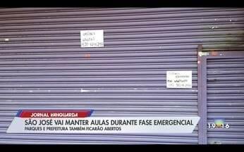 São José dos Campos vai manter aulas presenciais na rede municipal na fase emergencial - Confira a reportagem exibida pelo Jornal Vanguarda.