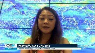 Veja a previsão do tempo para o final de semana no Ceará - Confira mais notícias em g1.globo.com/ce