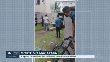 Suspeito de tráfico de drogas morre em troca de tiros com a PM, no Macapaba, no AP - Suspeito de tráfico de drogas morre em troca de tiros com a PM, no Macapaba, no AP