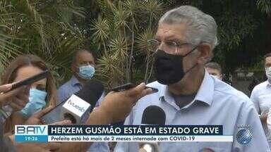 Prefeito de Vitória da Conquista está em estado grave por conta do coronavírus - Ele está internado em hospital em São Paulo e foi transferido para uma UTI na sexta-feira (12).
