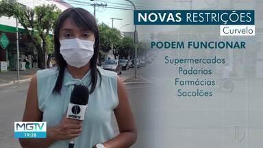 Prefeitura de Curvelo anuncia novas medidas de combate ao coronavírus - regras passam a valer a partir deste sábado (13).