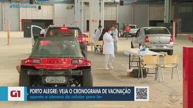 Municípios do RS seguem vacinação contra Covid-19 em idosos - Pelotas, Rio Grande, Porto Alegre e Caxias do Sul aplicaram doses da vacina nesta segunda-feira (15).