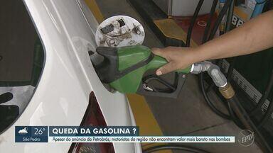 Petrobras diminui preço do litro da gasolina em 4,95% nas refinarias - Preço médio do combustível ficará em R$ 2,69 por litro. Com a mudança, gasolina passa a acumular alta de 46,19%.