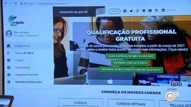 Programa Via Rápida está com mais de 600 vagas abertas para cursos gratuitos - O Programa Via Rápida, do governo estadual, está com mais de 600 vagas abertas para cursos de qualificação gratuitos em 19 cidades da região centro-oeste paulista.