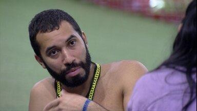 Gilberto afirma sobre Paredão: 'Eu não questiono o que eu fiz' - Gilberto afirma sobre Paredão: 'Eu não questiono o que eu fiz'