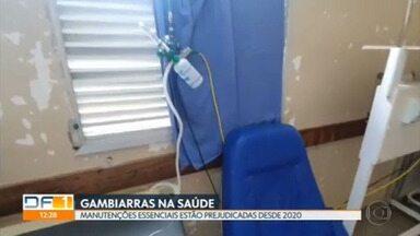 Gambiarras na saúde: secretaria está com contratos de manutenção vencidos desde o ano passado - Problema afeta atendimento básico aos pacientes.