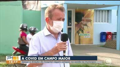 Sesapi e hospital de Campo Maior negam colapso, Prefeito fala sobre denúncia - Sesapi e hospital de Campo Maior negam colapso, Prefeito fala sobre denúncia