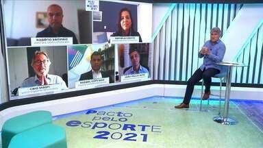 Pacto pelo Esporte 2021 começa nesta quarta com encontros virtuais - Pacto pelo Esporte 2021 começa nesta quarta com encontros virtuais